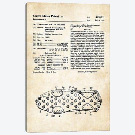 Tennis Shoes Canvas Print #PTN263} by Patent77 Art Print