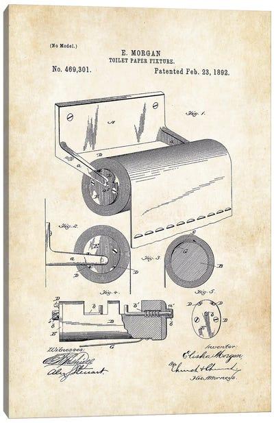 Toilet Paper Fixture Canvas Art Print