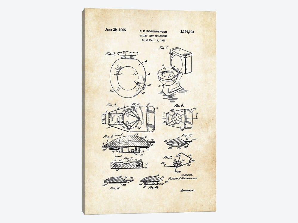 Toilet Seat by Patent77 1-piece Art Print