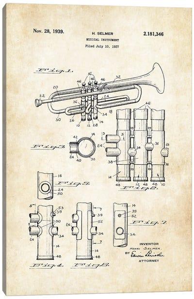 Trumpet (1939) Canvas Art Print