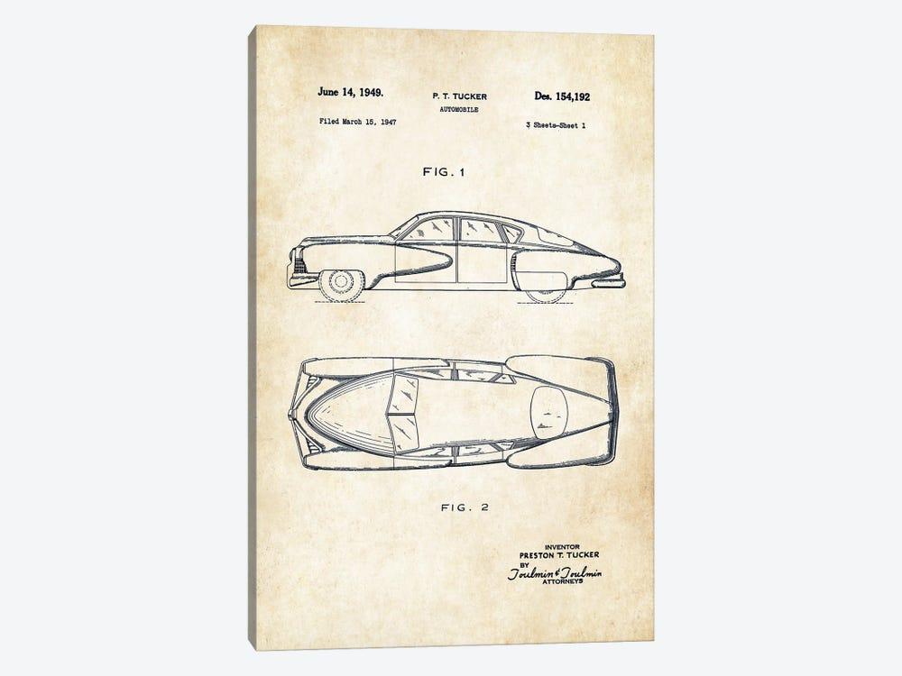 Tucker Torpedo (1949) by Patent77 1-piece Canvas Wall Art