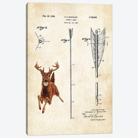 Whitetail Deer Canvas Print #PTN292} by Patent77 Canvas Artwork