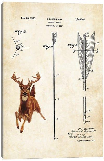 Whitetail Deer Canvas Art Print