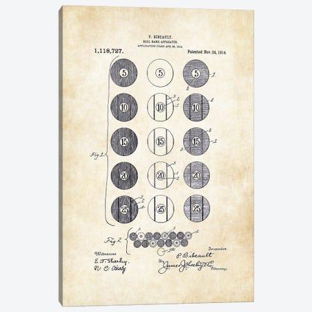 Billiard/Pool Balls Canvas Print #PTN34} by Patent77 Canvas Art Print