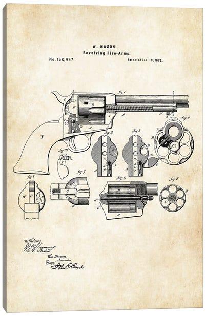 Colt Peacemaker Revolver Canvas Art Print