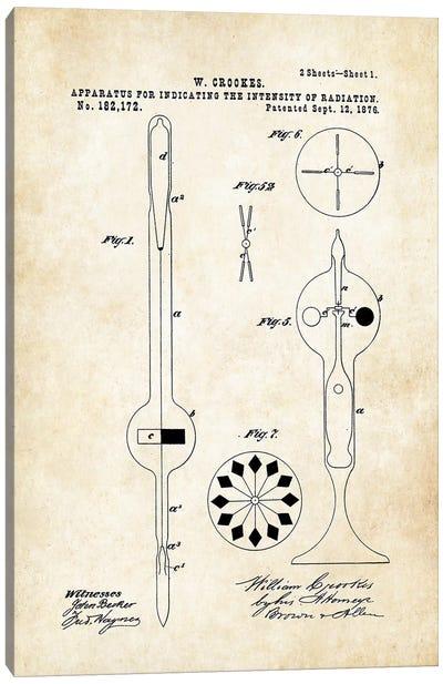 Crookes Radiometer Bulb Canvas Art Print