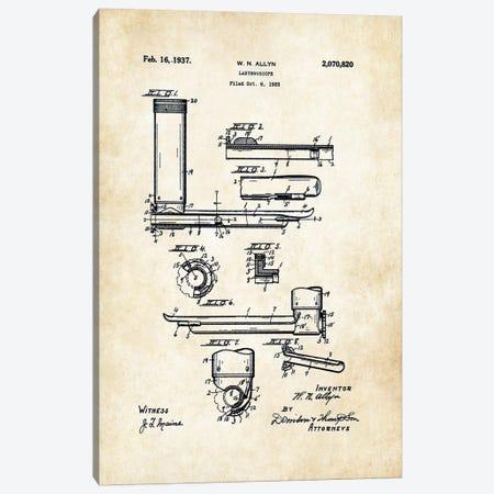 Doctor Laryngoscope Canvas Print #PTN78} by Patent77 Canvas Wall Art