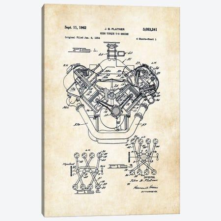 426 Hemi Engine Canvas Print #PTN7} by Patent77 Art Print