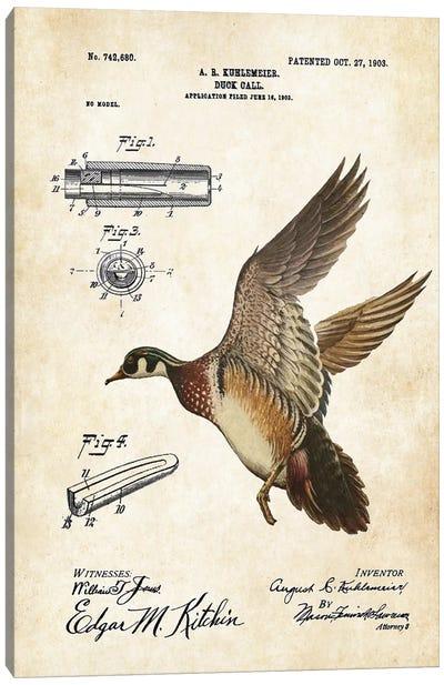 Duck Hunting  Canvas Art Print