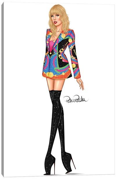 Taylor Swift - The Man Canvas Art Print