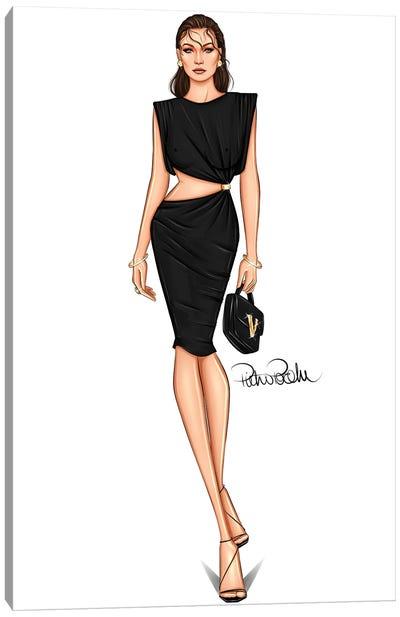 Runway - Gigi Hadid X Versace Canvas Art Print