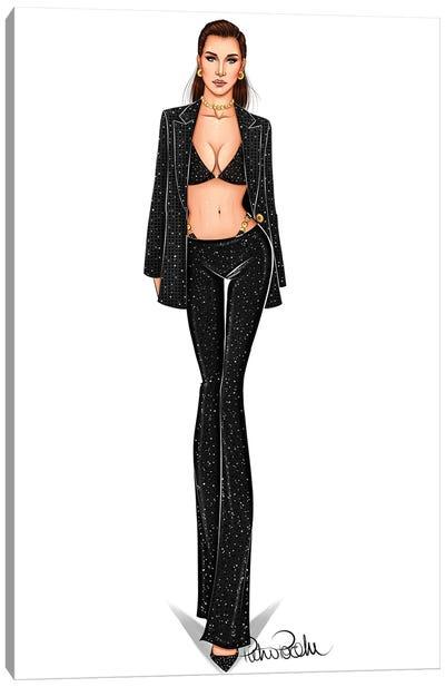 Dress To Kill - Bella Hadid X Versace Canvas Art Print