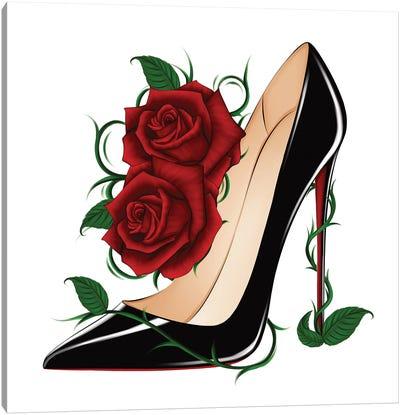 Louboutin Roses - So Kate Canvas Art Print