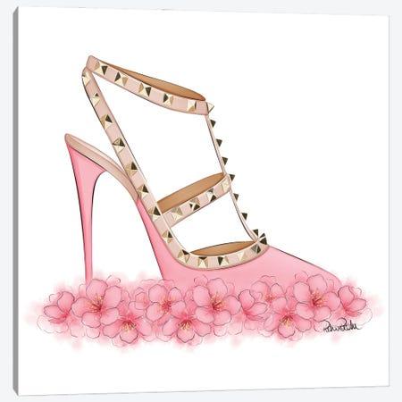 Pink Valentino Canvas Print #PTO28} by PietrosIllustrations Canvas Artwork