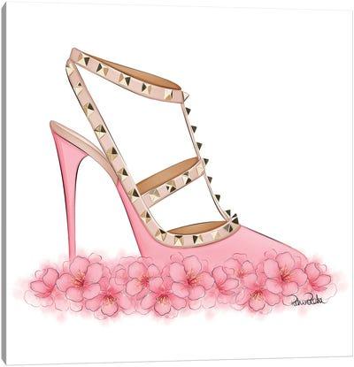Pink Valentino Canvas Art Print