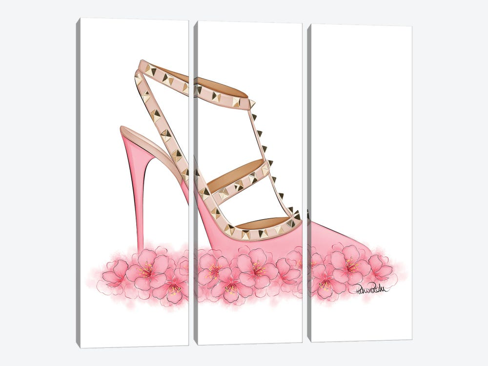 Pink Valentino 3-piece Canvas Wall Art