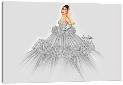 Ariana Grande - Giambattista Valli Canvas Art Print