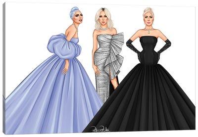 Lady Gaga - The Trinity Canvas Art Print