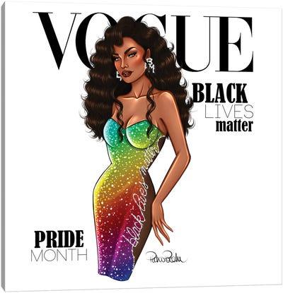 VOGUE - Black Lives Matter - Pride Month Canvas Art Print