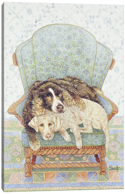 The Waiting Game Canvas Art Print
