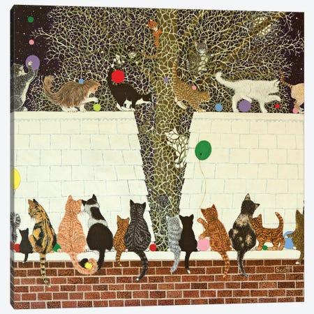 A Magical Display, 2012 Canvas Print #PTS3} by Pat Scott Canvas Wall Art