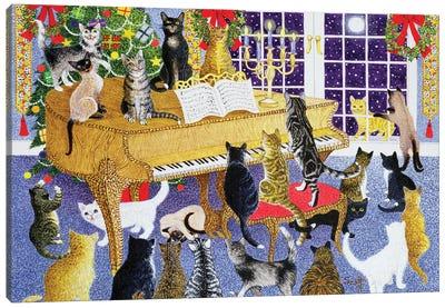 Christmas Chorus Canvas Art Print