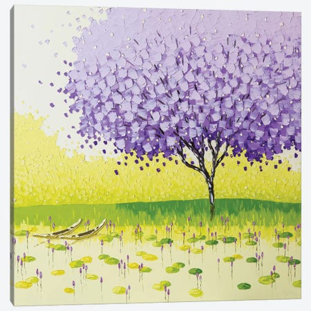 Tranquil Season Canvas Print #PTT10} by Phan Thu Trang Canvas Wall Art