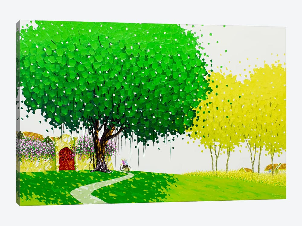 The Country Road by Phan Thu Trang 1-piece Canvas Art Print