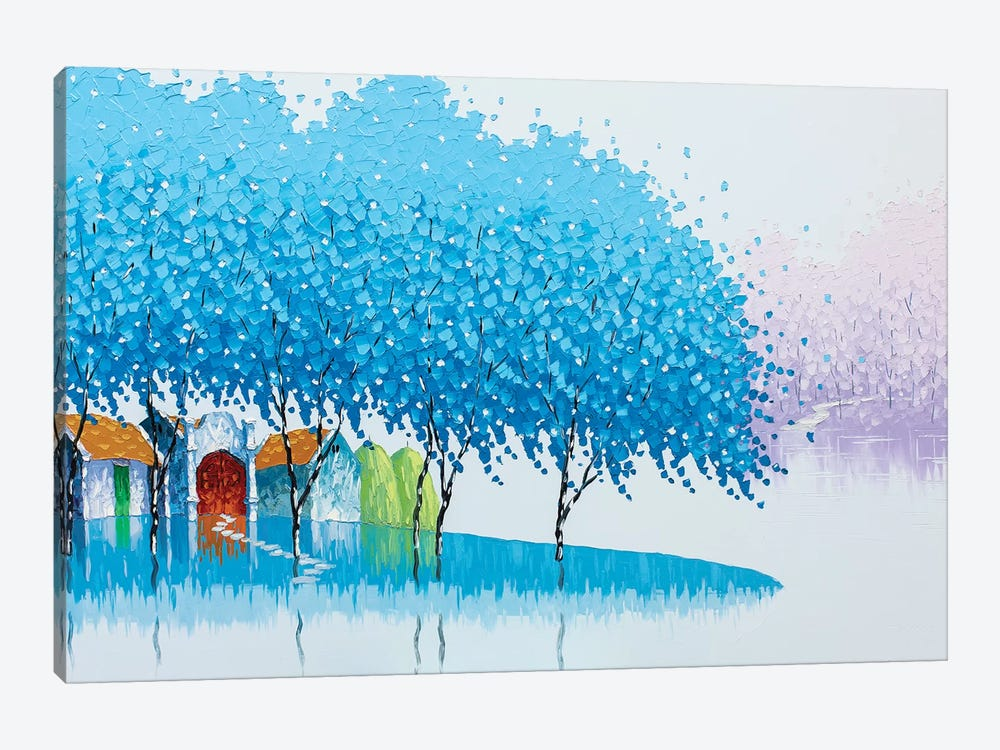 Winter Landscape by Phan Thu Trang 1-piece Canvas Wall Art