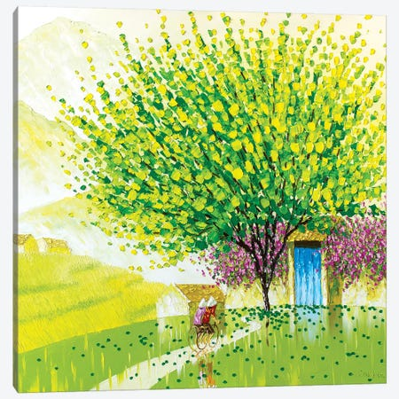 Coming Home Canvas Print #PTT15} by Phan Thu Trang Canvas Art Print