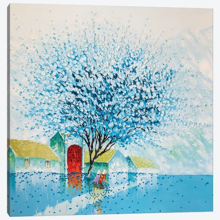 Early Morning Canvas Print #PTT16} by Phan Thu Trang Art Print