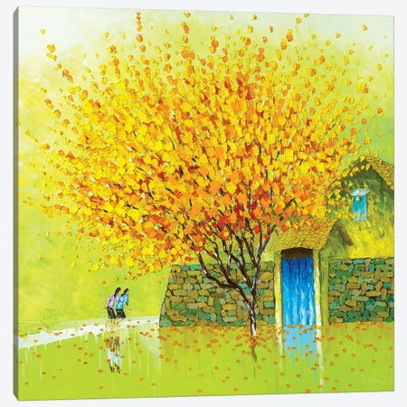 Golden Season Canvas Print #PTT17} by Phan Thu Trang Canvas Art Print