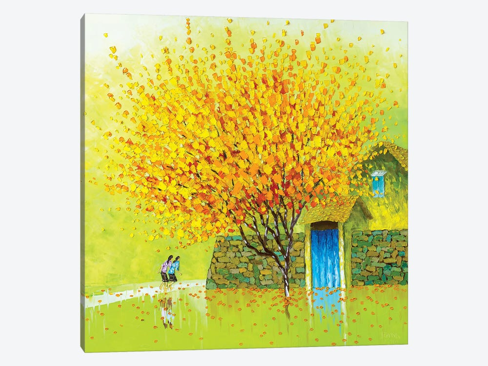 Golden Season by Phan Thu Trang 1-piece Canvas Wall Art