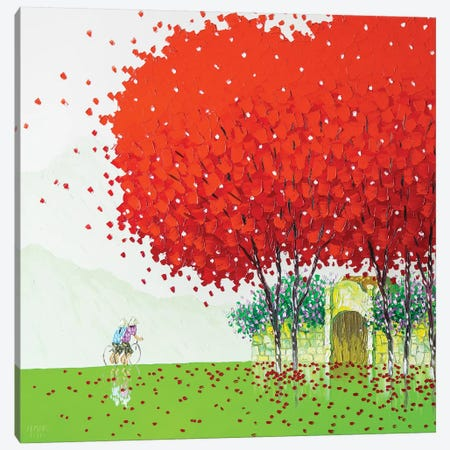 After The Rain Canvas Print #PTT1} by Phan Thu Trang Art Print