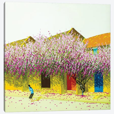 Summer In Hoi An Canvas Print #PTT20} by Phan Thu Trang Art Print