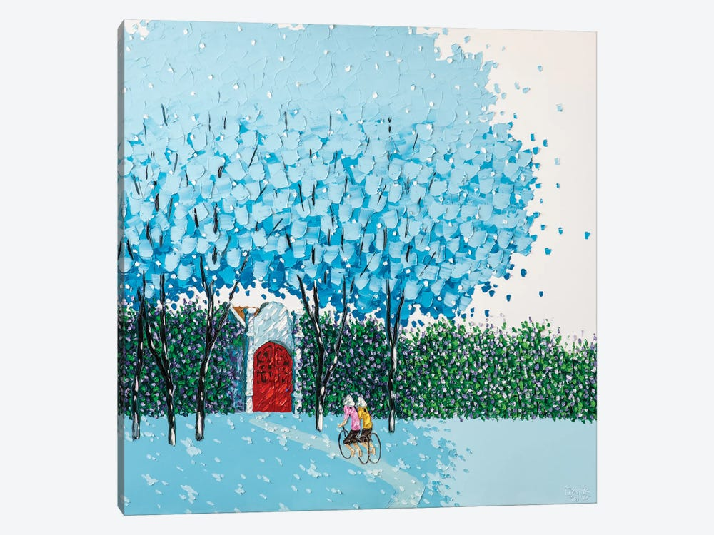 Beloved Blue by Phan Thu Trang 1-piece Canvas Art Print