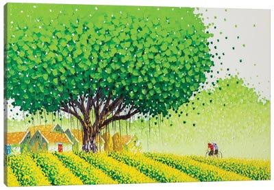 Flower Village Canvas Art Print