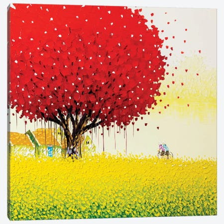 Golden Season Canvas Print #PTT6} by Phan Thu Trang Canvas Art