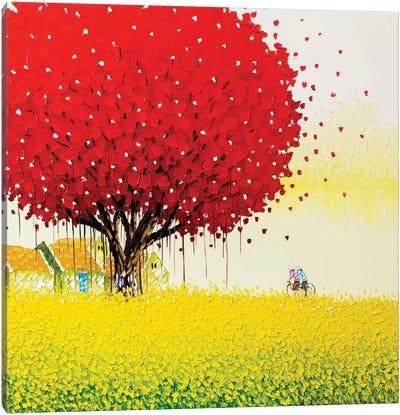 Golden Season Canvas Print #PTT6