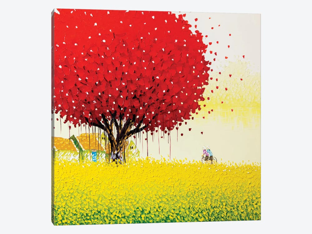 Golden Season by Phan Thu Trang 1-piece Canvas Art Print