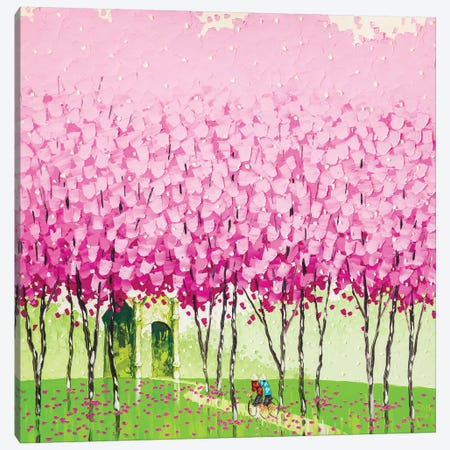 Happiness Canvas Print #PTT7} by Phan Thu Trang Canvas Art