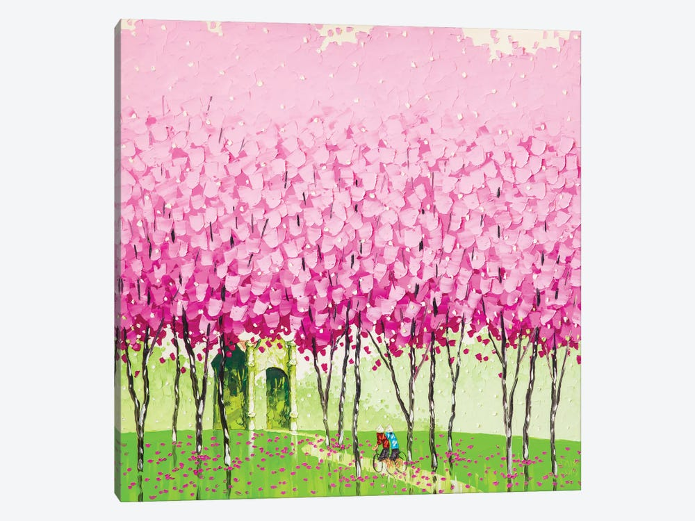 Happiness by Phan Thu Trang 1-piece Canvas Artwork