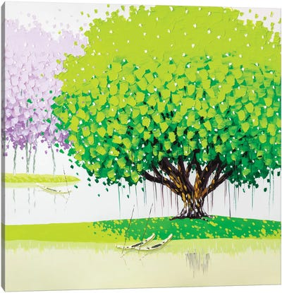 Peaceful Canvas Print #PTT9