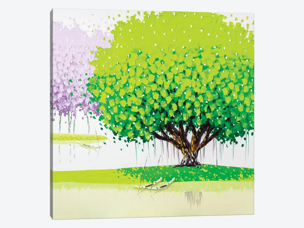 Peaceful by Phan Thu Trang 1-piece Canvas Artwork