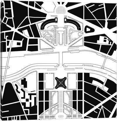 Eiffel Tower Paris Canvas Art Print