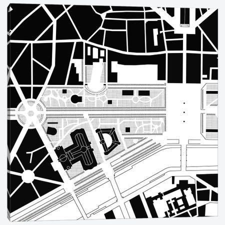 Elisha Camps Paris Canvas Print #PUB21} by Planos Urbanos Canvas Artwork