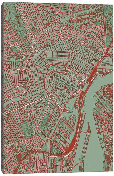 Amsterdam Pop Canvas Art Print
