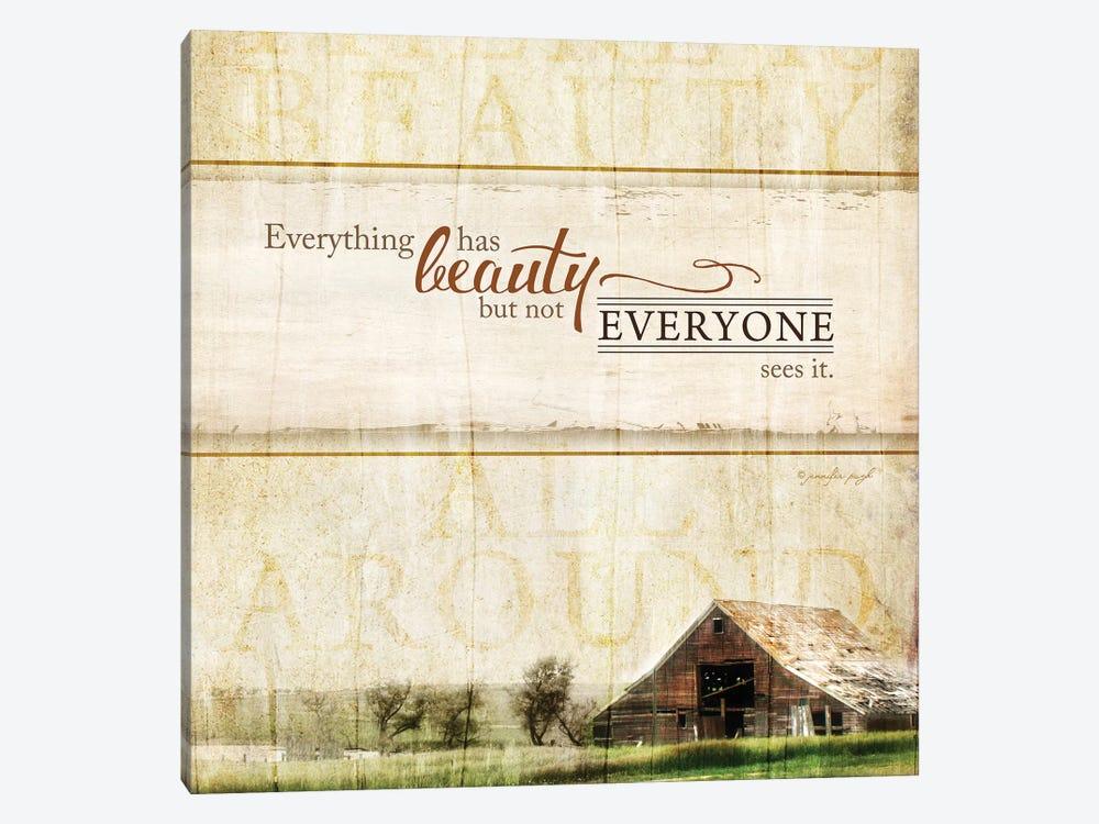Everything Has Beauty by Jennifer Pugh 1-piece Art Print