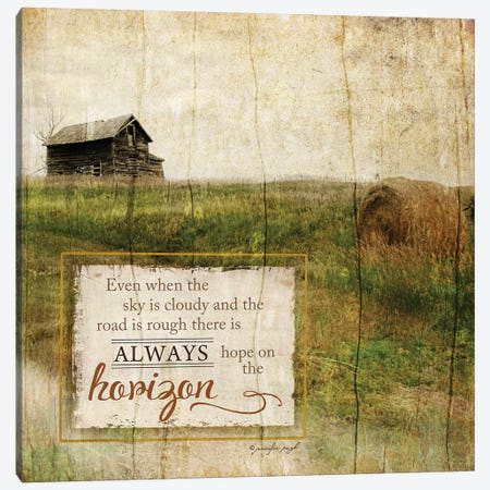 Always Hope Canvas Print #PUG1} by Jennifer Pugh Canvas Art