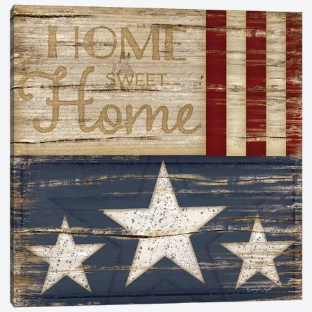 Home Sweet Home Canvas Print #PUG22} by Jennifer Pugh Canvas Art Print